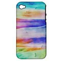 Background Color Splash Apple Iphone 4/4s Hardshell Case (pc+silicone)