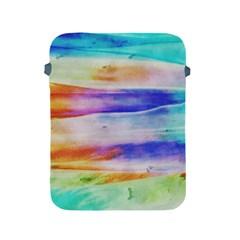 Background Color Splash Apple Ipad 2/3/4 Protective Soft Cases by goodart