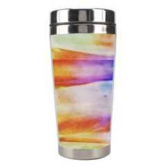 Background Color Splash Stainless Steel Travel Tumblers