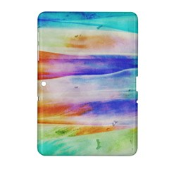 Background Color Splash Samsung Galaxy Tab 2 (10 1 ) P5100 Hardshell Case  by goodart