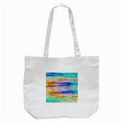 Background Color Splash Tote Bag (white) by goodart