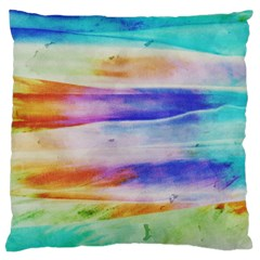Background Color Splash Standard Flano Cushion Case (two Sides) by goodart