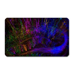 Color Splash Trail Magnet (rectangular)