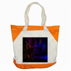Color Splash Trail Accent Tote Bag by goodart