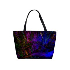 Color Splash Trail Shoulder Handbags by goodart
