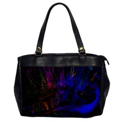 Color Splash Trail Office Handbags by goodart