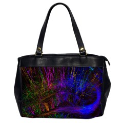 Color Splash Trail Office Handbags (2 Sides)