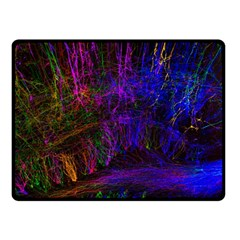 Color Splash Trail Fleece Blanket (small)