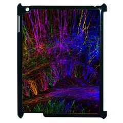 Color Splash Trail Apple Ipad 2 Case (black) by goodart