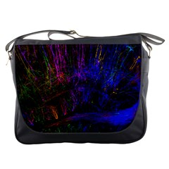 Color Splash Trail Messenger Bags
