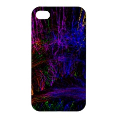Color Splash Trail Apple Iphone 4/4s Premium Hardshell Case