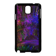 Color Splash Trail Samsung Galaxy Note 3 Neo Hardshell Case (black)