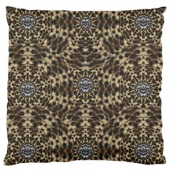 I Am Big Cat With Sweet Catpaws Decorative Large Cushion Case (two Sides)