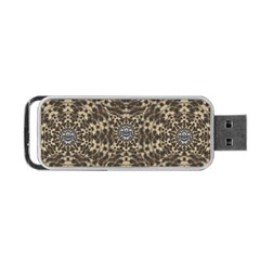 I Am Big Cat With Sweet Catpaws Decorative Portable Usb Flash (one Side)