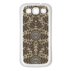 I Am Big Cat With Sweet Catpaws Decorative Samsung Galaxy S3 Back Case (white)