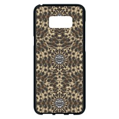 I Am Big Cat With Sweet Catpaws Decorative Samsung Galaxy S8 Plus Black Seamless Case