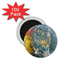 Colorful Abstract Texture  1 75  Magnets (100 Pack)