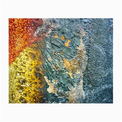 Colorful Abstract Texture  Small Glasses Cloth (2 Side)