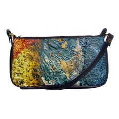 Colorful Abstract Texture  Shoulder Clutch Bags