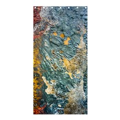 Colorful Abstract Texture  Shower Curtain 36  X 72  (stall)