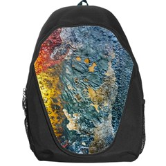 Colorful Abstract Texture  Backpack Bag