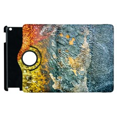 Colorful Abstract Texture  Apple Ipad 3/4 Flip 360 Case