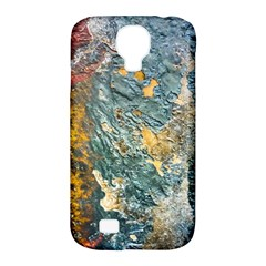 Colorful Abstract Texture  Samsung Galaxy S4 Classic Hardshell Case (pc+silicone)