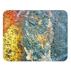 Colorful Abstract Texture  Double Sided Flano Blanket (large)