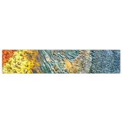 Colorful Abstract Texture  Small Flano Scarf