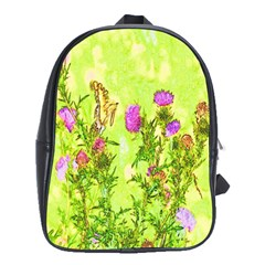 Butterflies School Bag (xl)