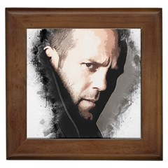 A Tribute To Jason Statham Framed Tiles