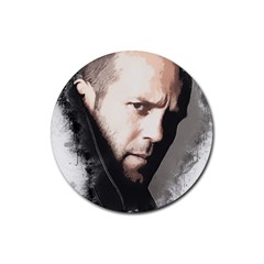 A Tribute To Jason Statham Rubber Round Coaster (4 Pack)