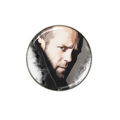A Tribute To Jason Statham Hat Clip Ball Marker by Naumovski