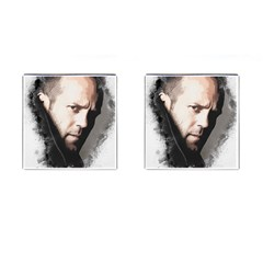 A Tribute To Jason Statham Cufflinks (square)
