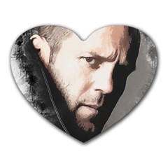 A Tribute To Jason Statham Heart Mousepads