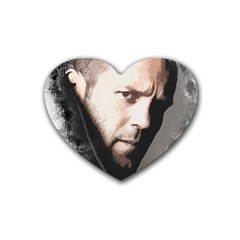 A Tribute To Jason Statham Heart Coaster (4 Pack)