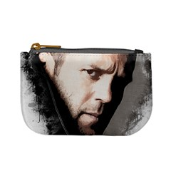 A Tribute To Jason Statham Mini Coin Purses by Naumovski