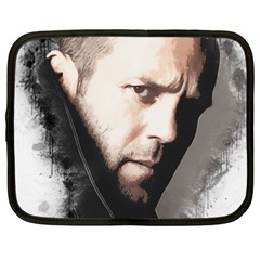 A Tribute To Jason Statham Netbook Case (xxl)  by Naumovski