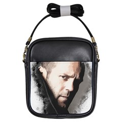 A Tribute To Jason Statham Girls Sling Bags