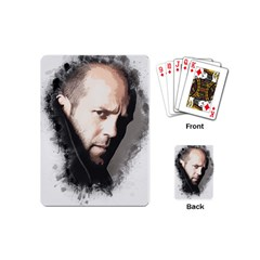 A Tribute To Jason Statham Playing Cards (mini)  by Naumovski