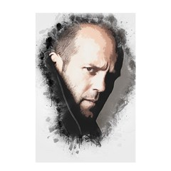 A Tribute To Jason Statham Shower Curtain 48  X 72  (small)  by Naumovski