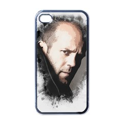 A Tribute To Jason Statham Apple Iphone 4 Case (black) by Naumovski