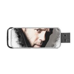 A Tribute To Jason Statham Portable Usb Flash (one Side)