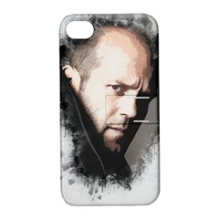 A Tribute To Jason Statham Apple Iphone 4/4s Hardshell Case With Stand by Naumovski
