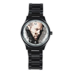 A Tribute To Jason Statham Stainless Steel Round Watch