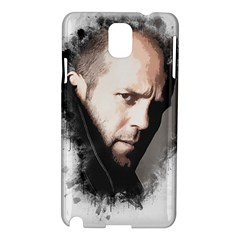 A Tribute To Jason Statham Samsung Galaxy Note 3 N9005 Hardshell Case by Naumovski