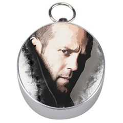 A Tribute To Jason Statham Silver Compasses