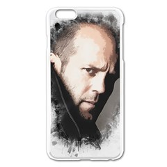 A Tribute To Jason Statham Apple Iphone 6 Plus/6s Plus Enamel White Case by Naumovski