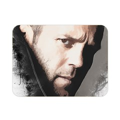 A Tribute To Jason Statham Double Sided Flano Blanket (mini)