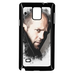 A Tribute To Jason Statham Samsung Galaxy Note 4 Case (black) by Naumovski